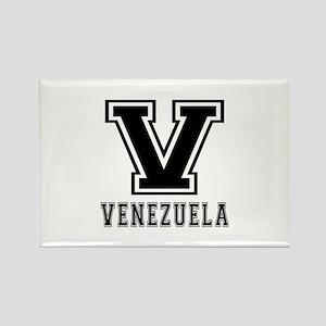 Venezuela Designs Rectangle Magnet