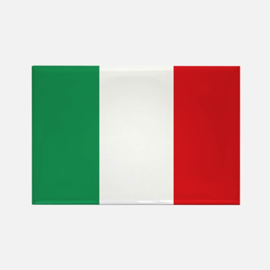 Flag Italy Rectangle Magnet