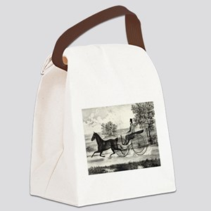 The road,--summer - 1853 Canvas Lunch Bag
