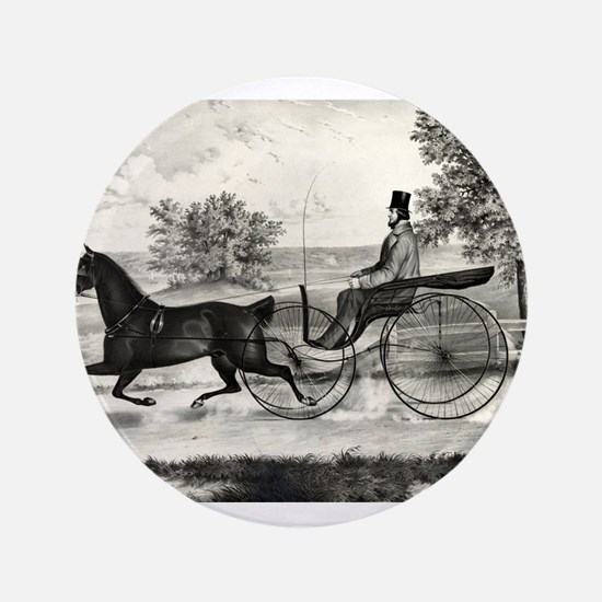 The road,--summer - 1853 Button