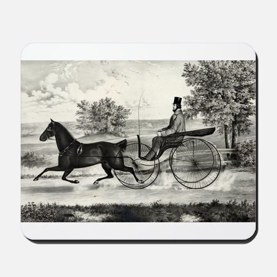 The road,--summer - 1853 Mousepad