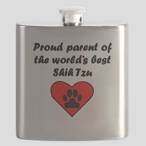 Shih Tzu Parent Flask