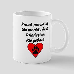 Rhodesian Ridgeback Parent Mugs