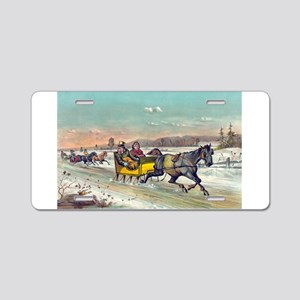 Waking up the old mare - 1881 Aluminum License Pla