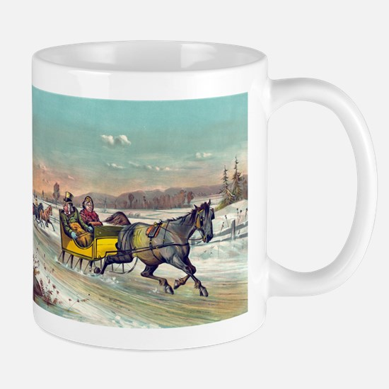Waking up the old mare - 1881 Mug