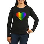 Gay Pride Rainbow Women's Long Sleeve Dark T-Shirt