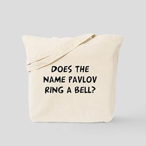 Does Pavlov Tote Bag