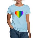 Gay Pride Rainbow Love Women's Light T-Shirt