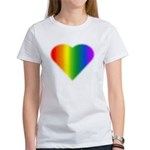 Gay Pride Rainbow Lo Women's Classic White T-Shirt