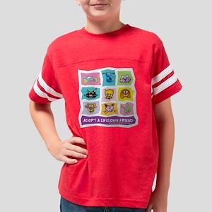 Adopt wBkgrd z12x12 Youth Football Shirt