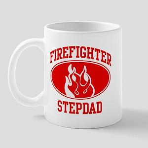 Firefighter STEPDAD (Flame) Mug