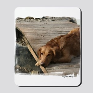 Golden Retriever Art Mousepad