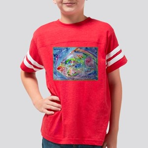 Tropical Fish! Colorful art! Youth Football Shirt