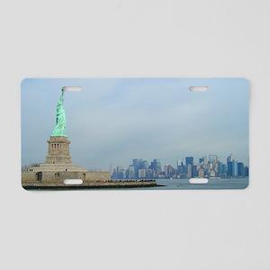 Statue of Liberty New York Aluminum License Plate
