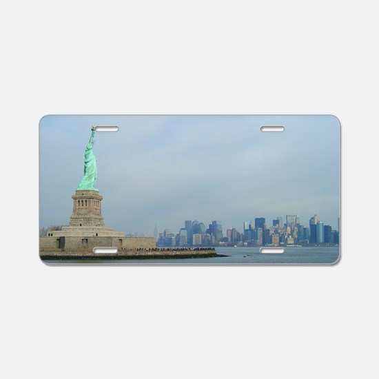 Statue of Liberty New York Aluminum License Plate