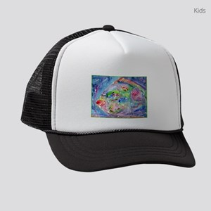 Tropical Fish! Colorful art! Kids Trucker hat