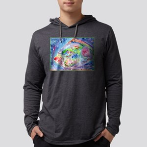 Tropical Fish! Colorful art! Mens Hooded Shirt