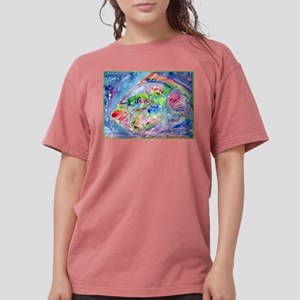Tropical Fish! Colorful art! Womens Comfort Colors