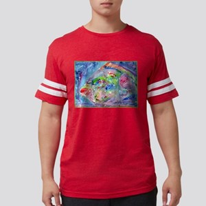 Tropical Fish! Colorful art! Mens Football Shirt
