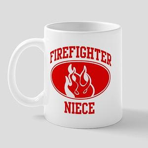 Firefighter NIECE (Flame) Mug