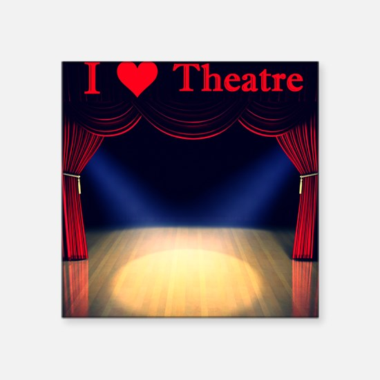 "Theatre Square Sticker 3"" x 3"""