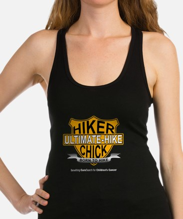 Hiker Chick-HD Racerback Tank Top