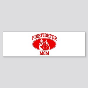 Firefighter MOM (Flame) Bumper Sticker