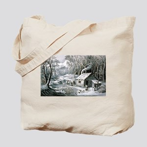 Home in the wilderness - 1870 Tote Bag