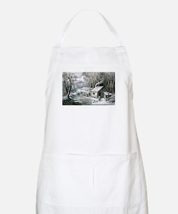 Home in the wilderness - 1870 Light Apron