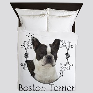 Lifes Better Boston Queen Duvet