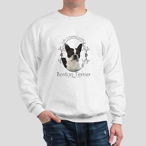 Lifes Better Boston Sweatshirt