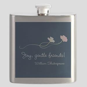 Joy, Gentle Friends! Flask