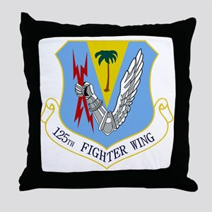 125th FW Throw Pillow