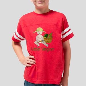 Little Vegan Lt Skin Youth Football Shirt