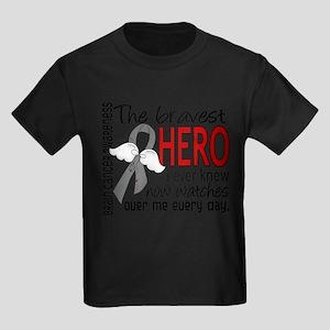 Bravest Hero I Knew Brain Cancer T-Shirt