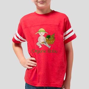 Organic Baby Lt Skin Youth Football Shirt