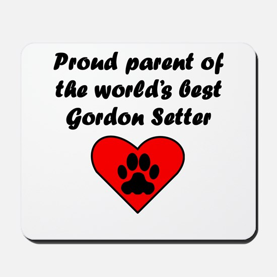 Gordon Setter Parent Mousepad