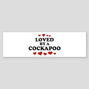 Loved: Cockapoo Bumper Sticker