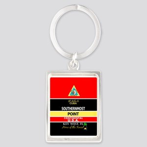 Southernmost Point Buoy Key West Keychains