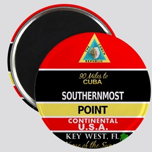 Southernmost Point Buoy Key West Magnets