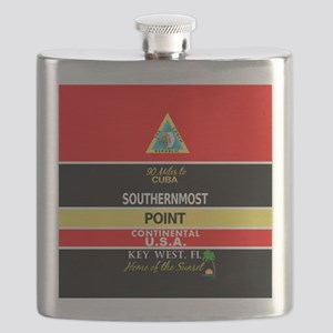Southernmost Point Buoy Key West Flask