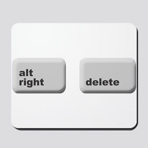 alt right - delete Mousepad