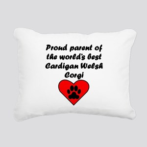 Cardigan Welsh Corgi Parent Rectangular Canvas Pil