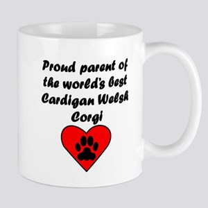 Cardigan Welsh Corgi Parent Mugs