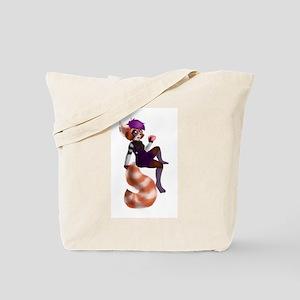 Red Panda Girl Tote Bag