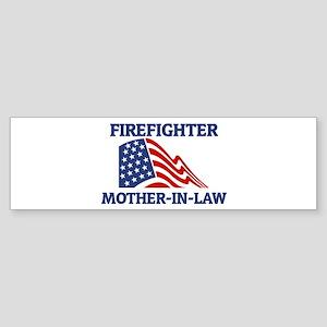 Firefighter MOTHER-IN-LAW (Fl Bumper Sticker