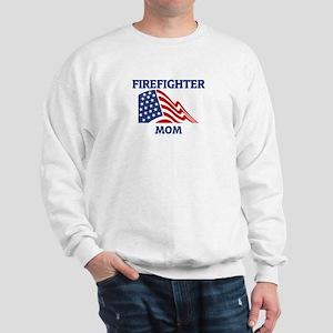 Firefighter MOM (Flag) Sweatshirt