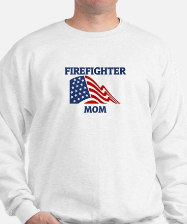 Firefighter MOM (Flag) Sweatshirt