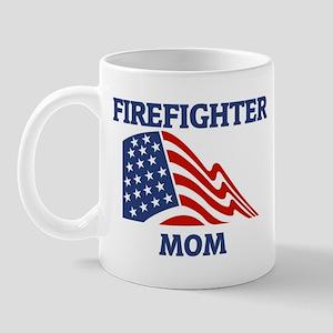 Firefighter MOM (Flag) Mug
