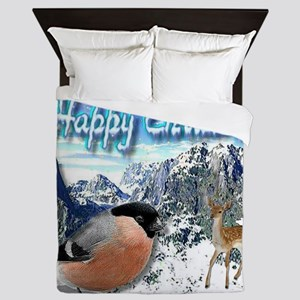 Happy Christmas Queen Duvet
